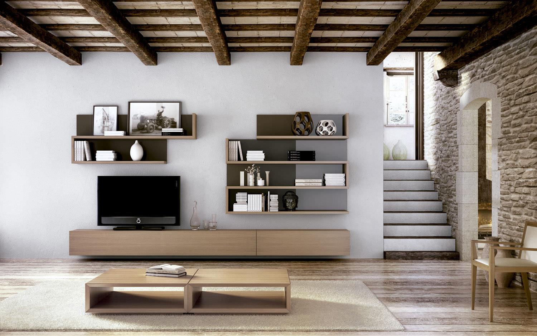 Salas de entretenimiento for Muebles de lujo modernos