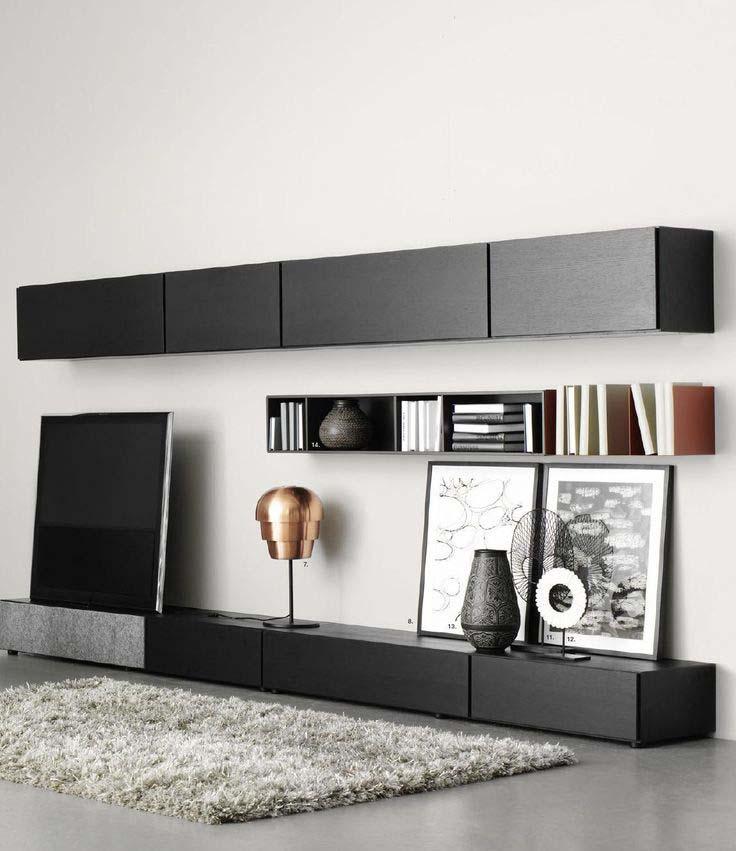 salas de entretenimiento. Black Bedroom Furniture Sets. Home Design Ideas